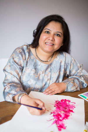 Preeti Gupta, owner of Pattern Passion.